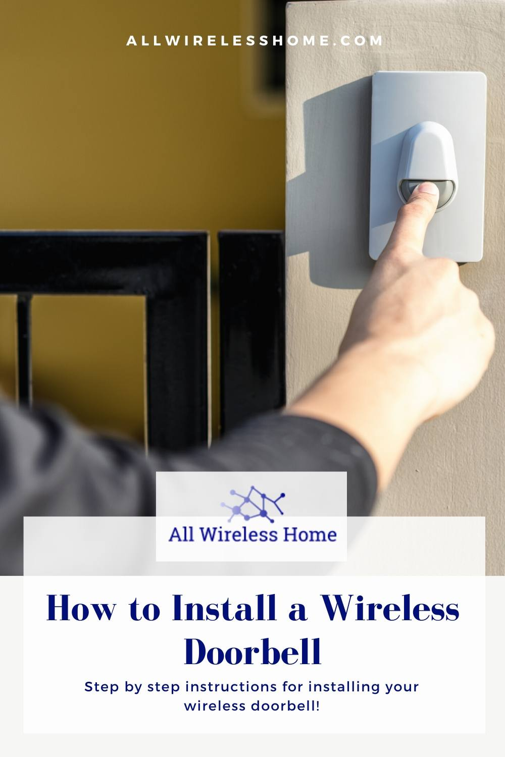 Howto Install a Wireless Doorbell