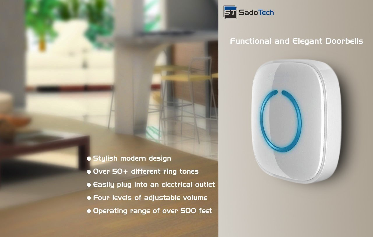 SadoTech Model CXR Wireless Doorbell Review 2
