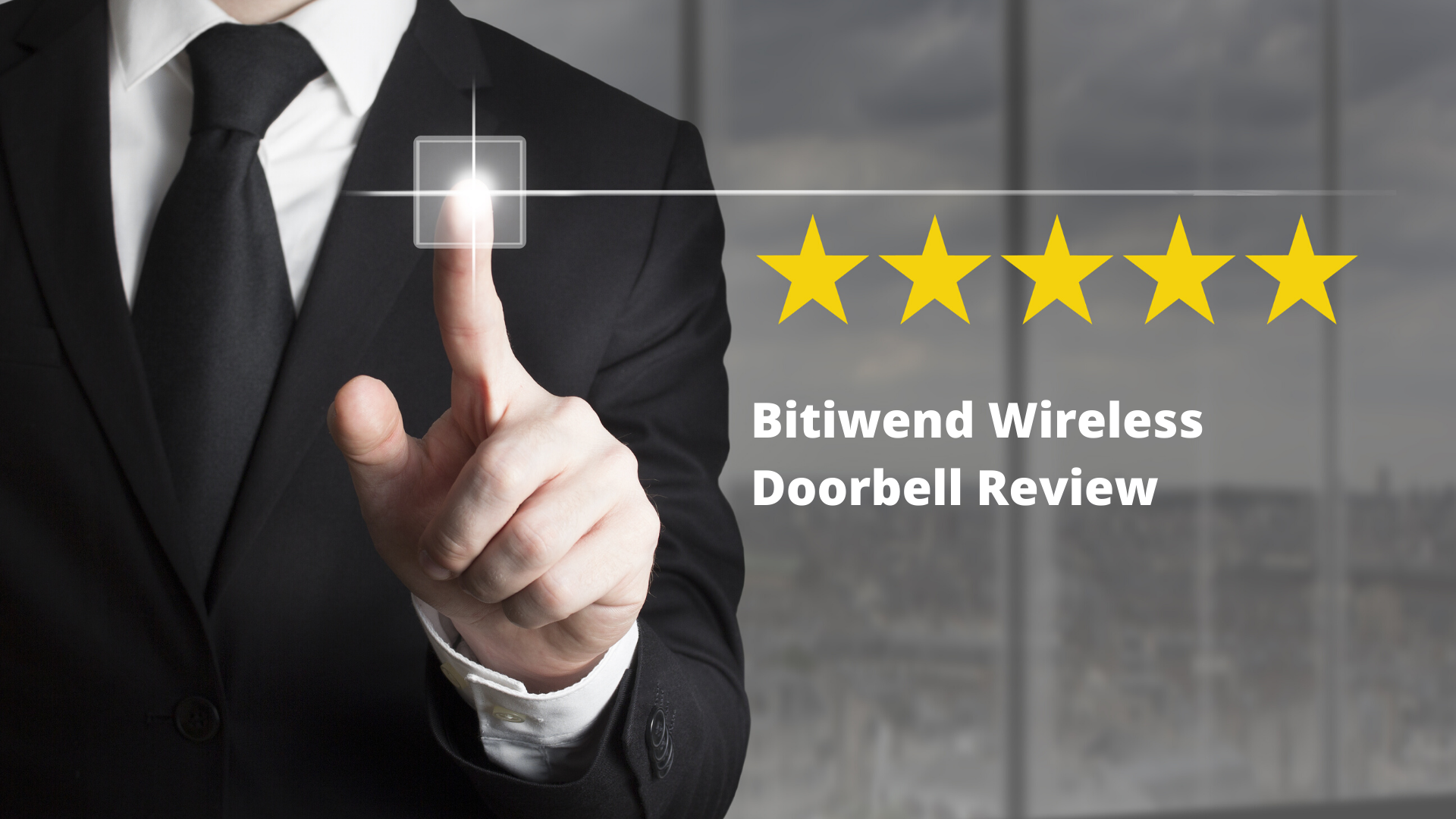 Bitiwend Wireless Doorbell Review