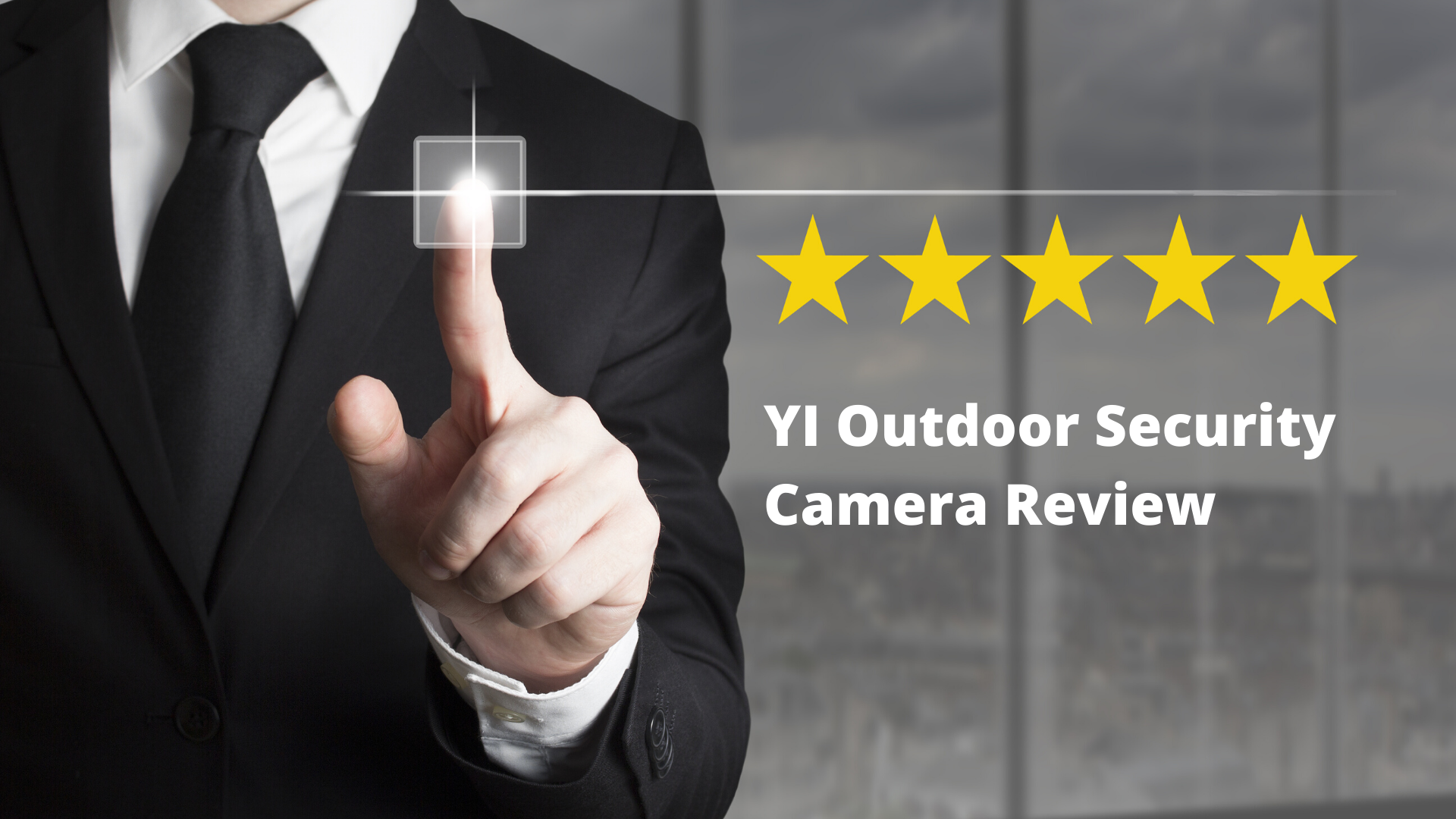 YI Outdoor Security Camera Review